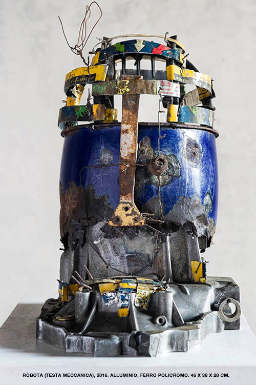 Robota-Testa-meccanica